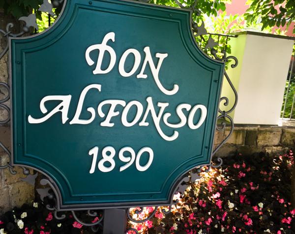 Don Alfonso dal 1890