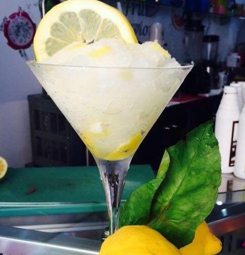 GRANITA, La granita al limone