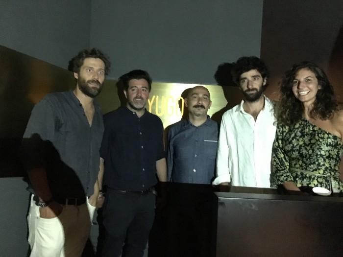 Gianluca Sette, Riccardo Saregeni, MArco del Vescovo, Maddalena Salerno