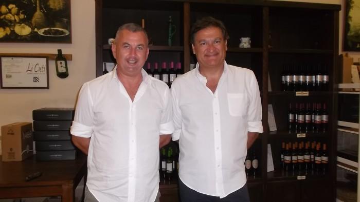 Giuseppe Coppola e Giuseppe Pizzolante Leuzzi