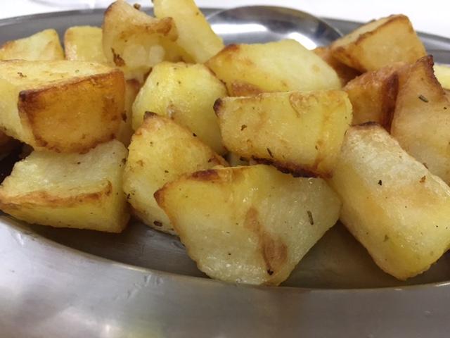 Ristorante La Petra, patate