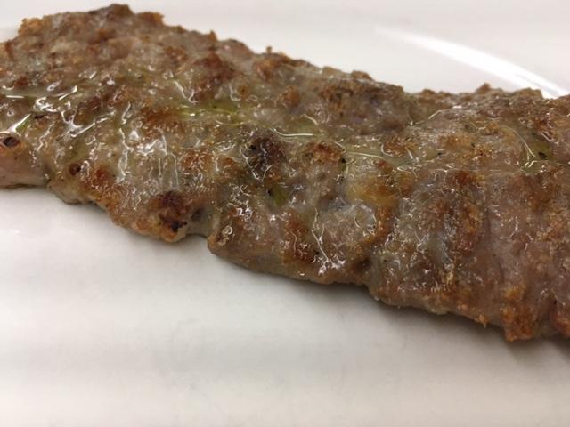 Ristorante La Petra, salsiccia ai ferri