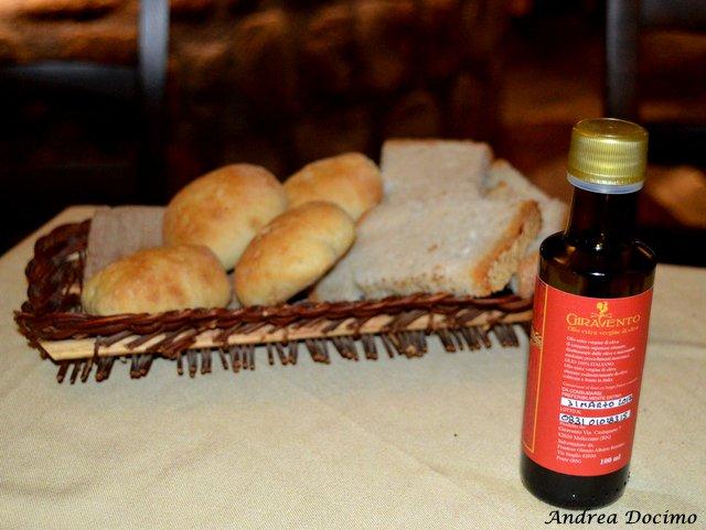 Il Foro dei Baroni a Puglianello. Pani ed olio