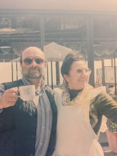 Lo Scoglio, Antonietta e Lucio Dalla