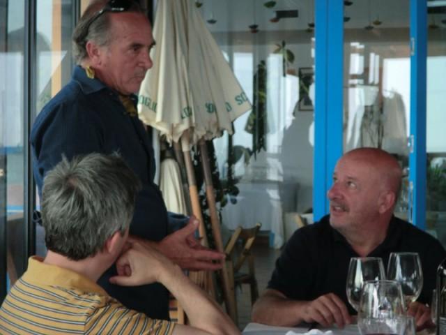 Lo Scoglio a Nerano, Stefano Bonilli nel 2011