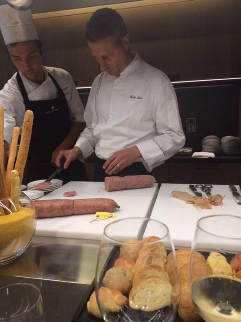 Lo chef Paolo Rota del ristorante da Vittorio, Milano