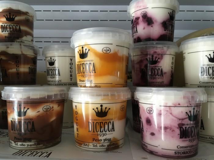 Lo yogurt aromatizzato