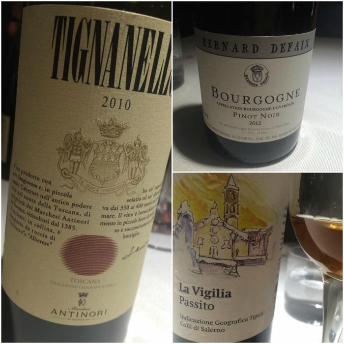 Locanda Severino, i vini