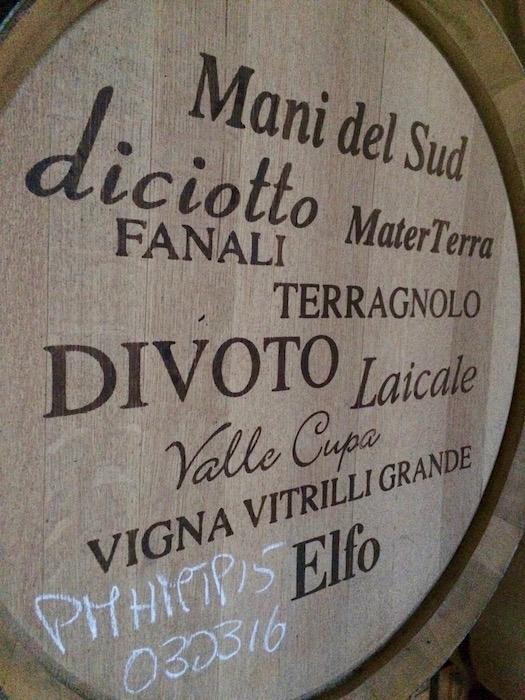 Nomi dei vini