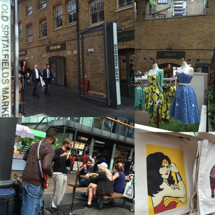Old Spitalfields Market, scorci