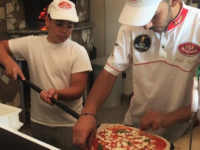 Piccoli pizzaioli crescono