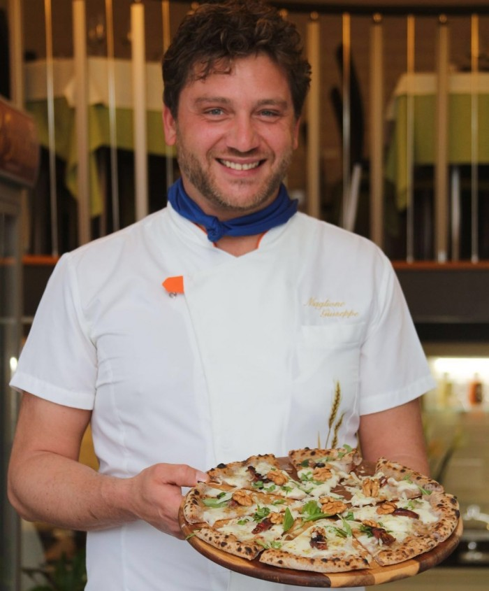 Pizzeria Daniele, Giuseppe Maglione