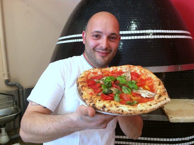 Pizzeria Franco la marinara con alici fresche