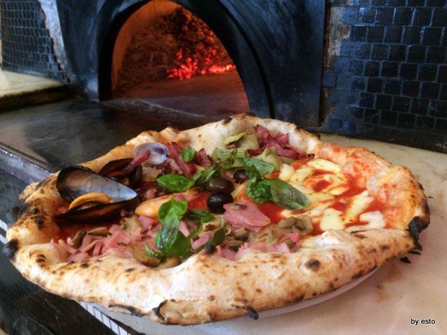 Pizzeria Franco la pizza quattro stagioni
