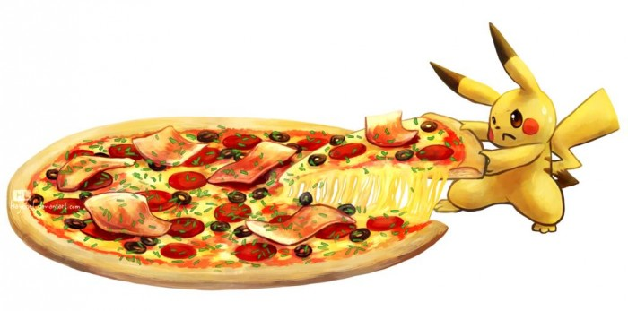 Pokemon Pizza