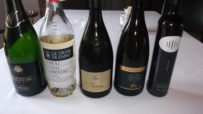 Ristorante Le Trabe Vini degustati