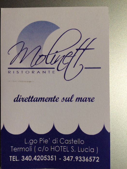 Ristorante Molinett