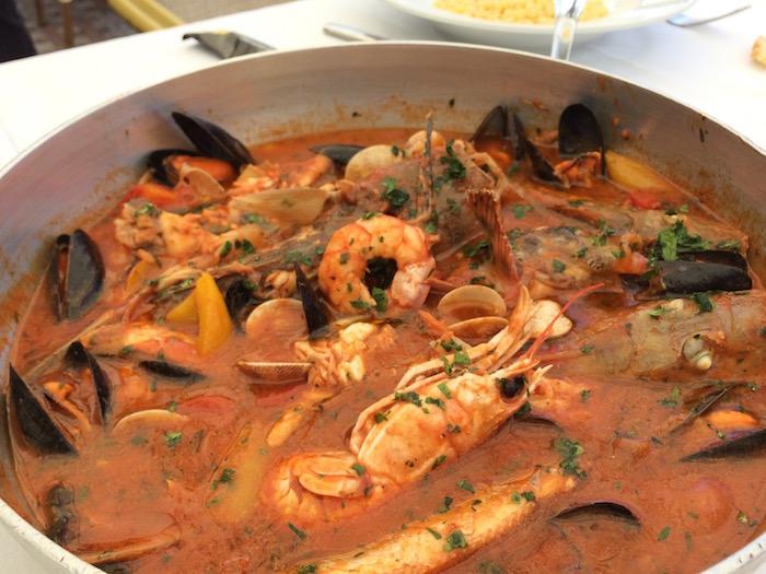 Ristorante Molinett, zuppa di Pesce