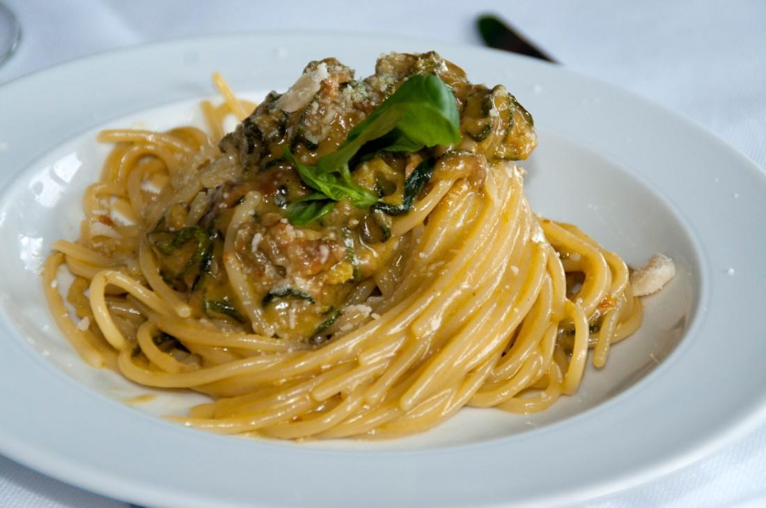 Spaghetto alla Nerano dello Scoglio