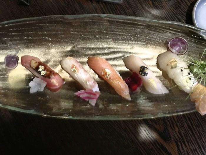 Sushi B, Il sushi creativo secondo Niimori Nobuya