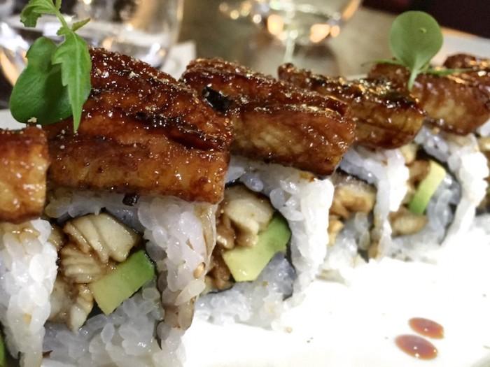 Sushi B, Roll con anguilla ricetta tradizionale giapponese
