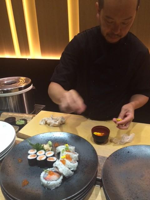 Sushi B, Preparazione del sushi