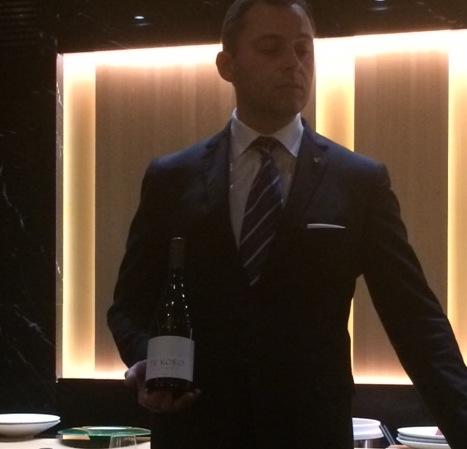 Sushi B, Presentazione dei vini Cloudy Bay