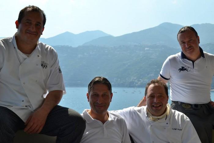 TORRE NORMANNA - I fratelli Proto (da sin. verso dx) Massimo, Ivano, Luigi e Daniele