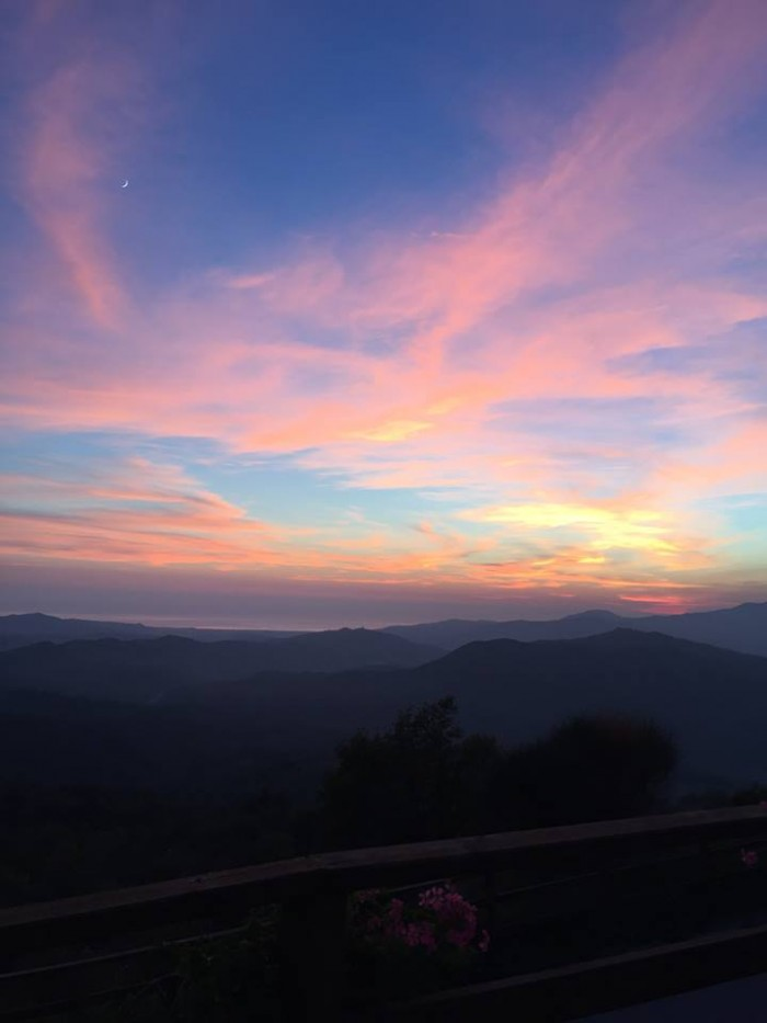 Tenuta Ceranni, tramonto