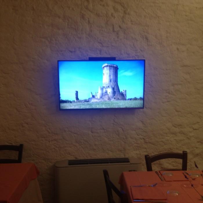 Diabasis schermo in sala