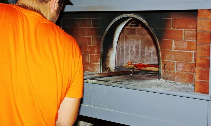 L'antico forno da pizza cilentano