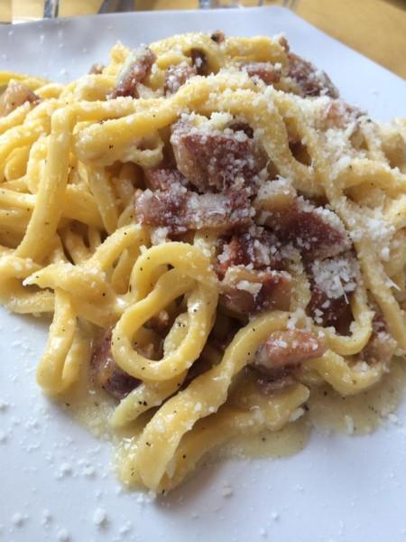 Osteria Bonelli,  tonnarelli alla gricia