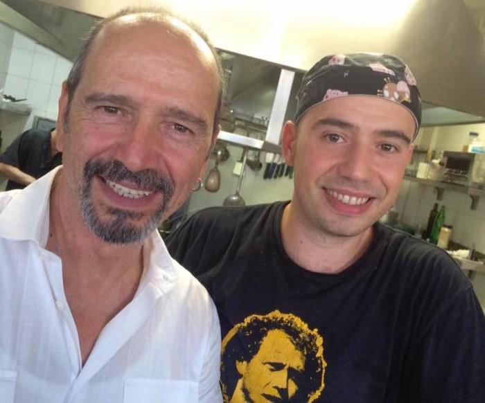 Osteria Bonelli, Claudio con il figlio Simone