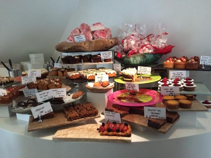 Ottolenghi Spitalfields, il banco dei dolci