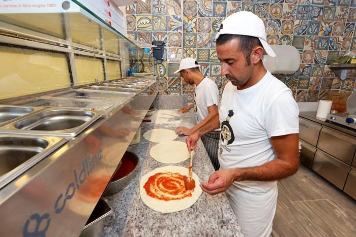 Pizzaioli al lavoro DaZero