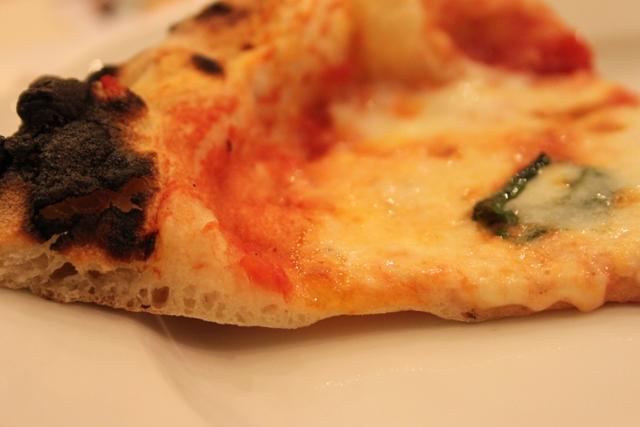 La pizza Margherita di Ciro a Santabrigida