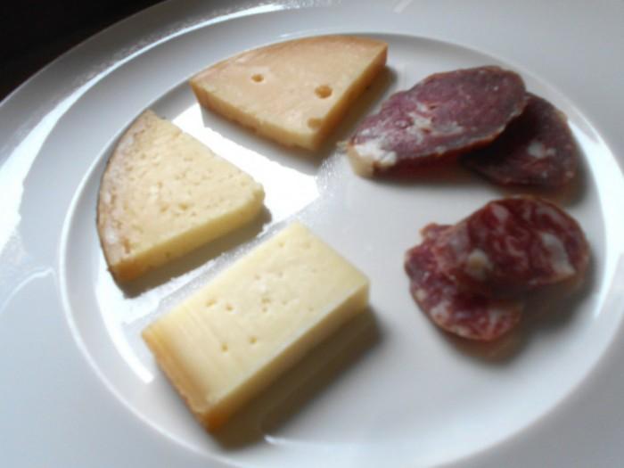 Sopressata e formaggi