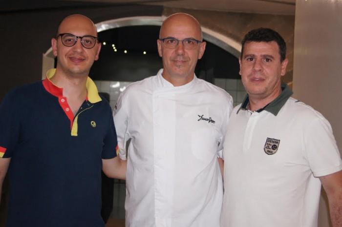 Franco Pepe, Vincenzo Coppola e Mario Cipriano