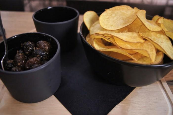 Terrae Motus, chips di patate