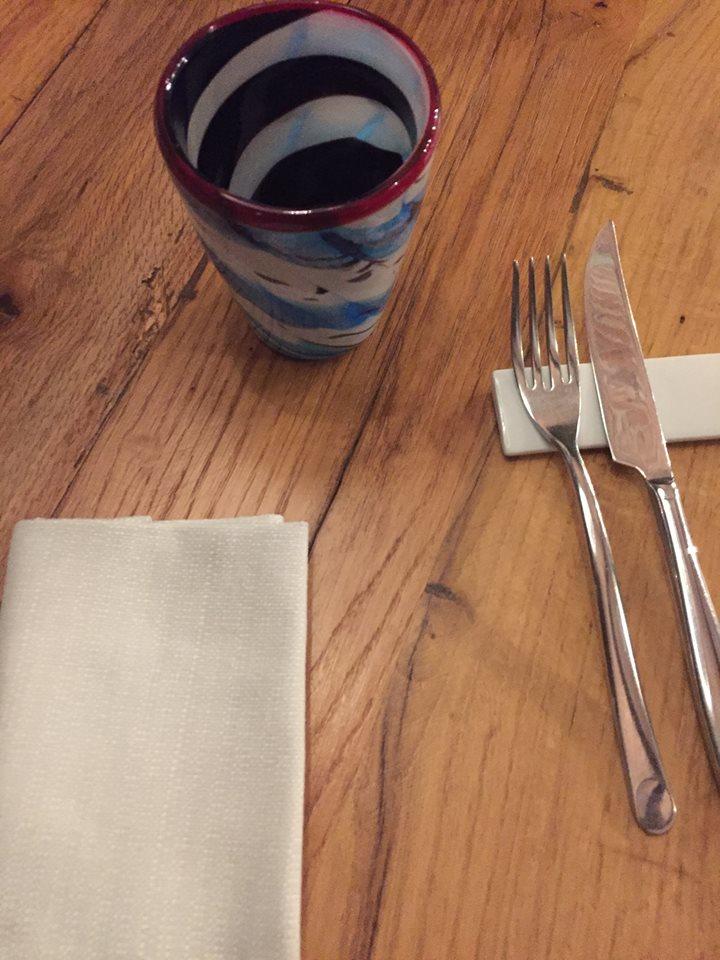 Magazzino 52 Torino, la tavola