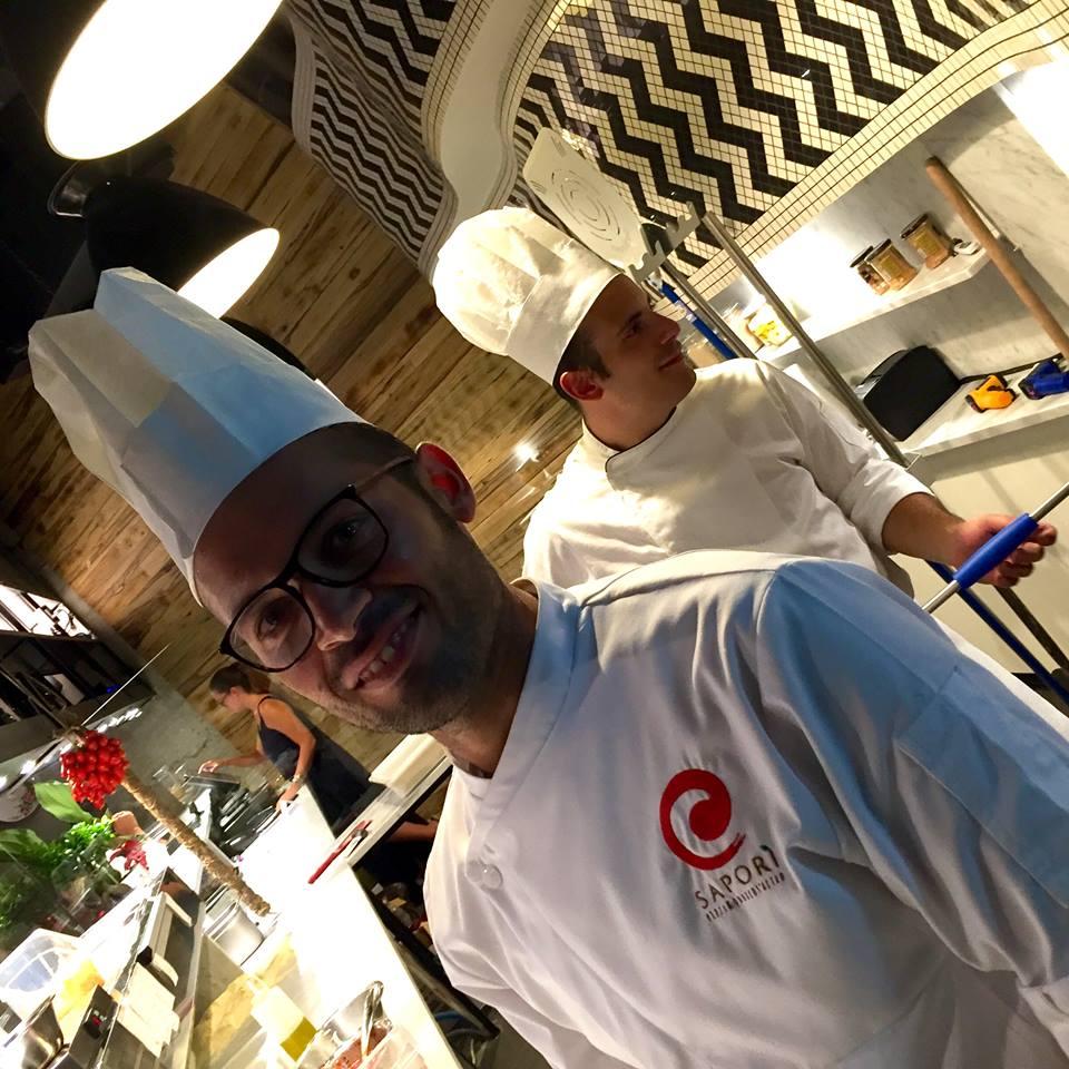 Pizzeria Sapori', Mariano Mennella