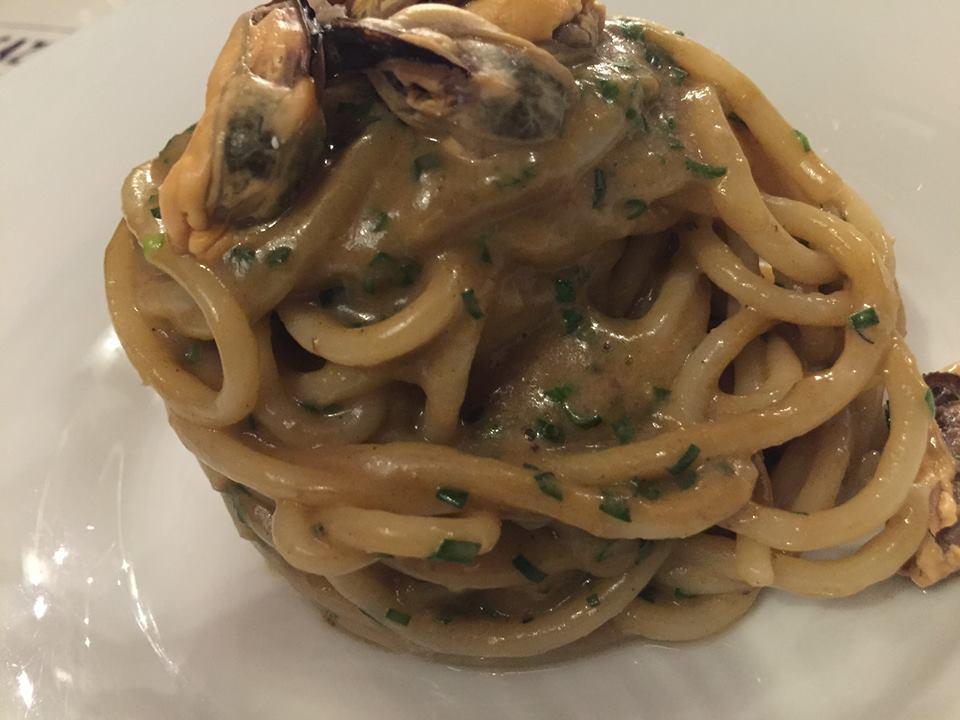Magazzino 52 Torino, Spaghetti con le cozze