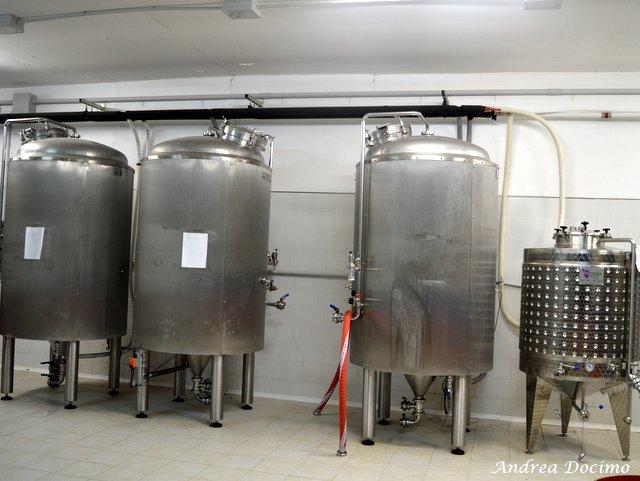 Birrificio Lievito e Nuvole, i fermentatori
