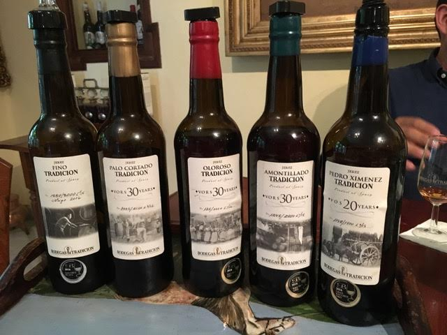 Bodegas Tradicion, i vini