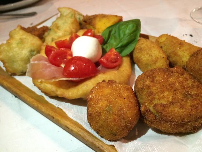 Carpe Diem, misto fritti Napoletani
