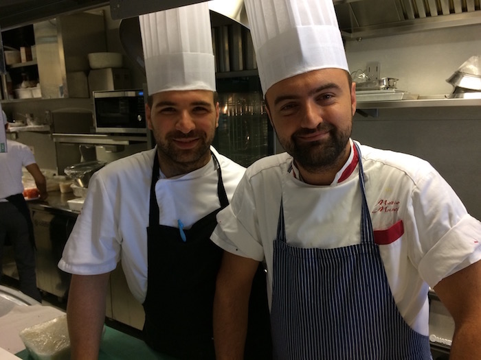 Da sinistra Roberto Locantore e Mario Musci