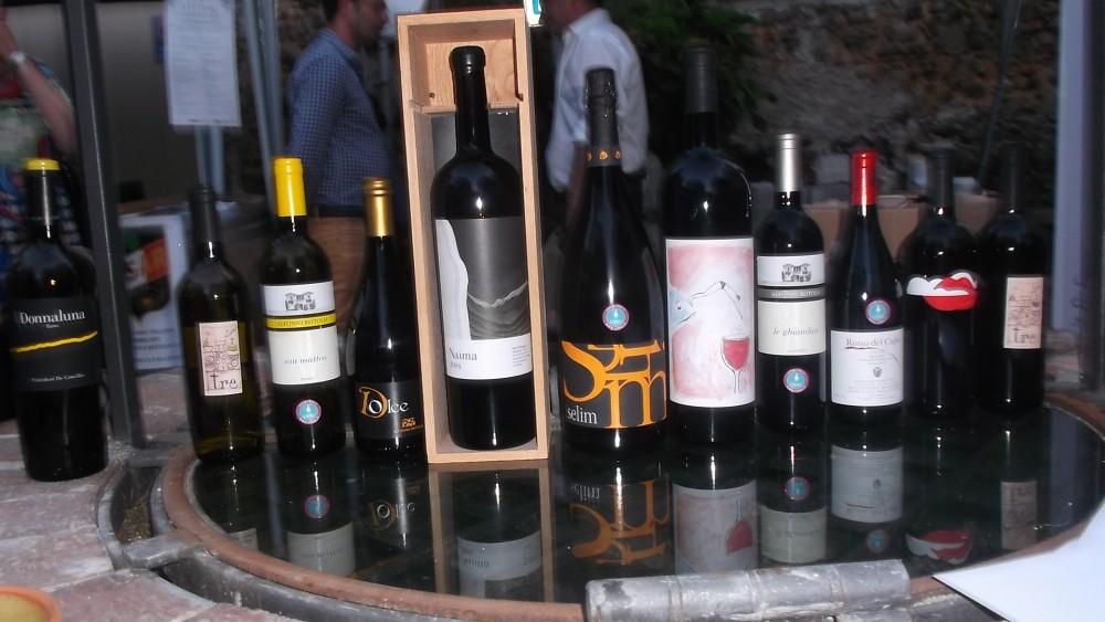 Festival del Moscato e Spumante a Castinatelli Vini cilentani in esposizione