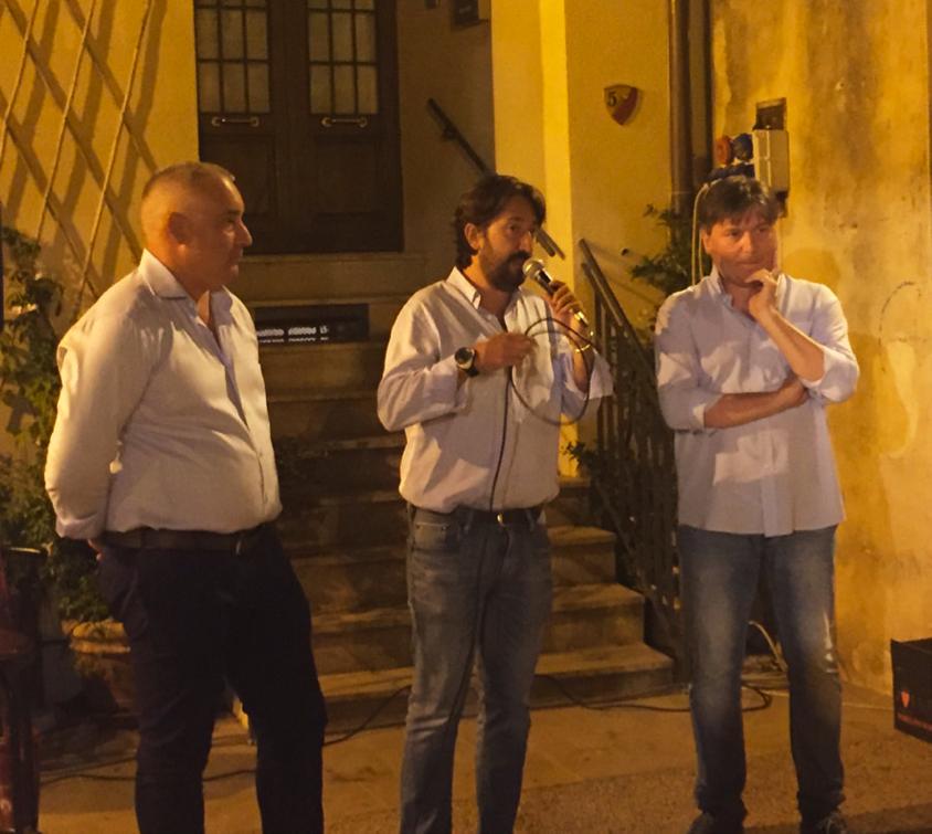 Fiordelli con sindaci Magliano e Orbetello