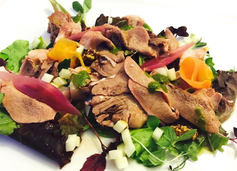 I Sette Consoli, Testina e lingua di vitello in insalata