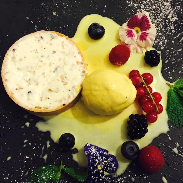 I Sette Consoli, Tartelletta di cassata all'italiana e salsa al limoncello